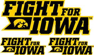 Iowa Hawkeyes Decal - Sticker