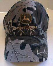 Vintage John Deere Mens Camo Snapback Ball Cap