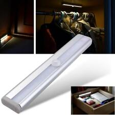 10 LED del sensor de movimiento PIR LED Luz de noche con banda magnética con pilas