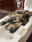 Franklin Mint Precision Model M1A1 ABRAMS TANK, 1:24 Scale; Camouflage