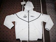 Nike Super Bowl XLIX Seattle Seahawks XL Media Day Tech Windrunner Jacket 8a8650f0c