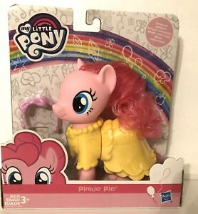 """My Little Pony """"PINKIE PIE"""" SNAP ON DRESS UP TOY FIGURE 6 INCH 3+ - Has to"""
