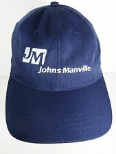 JOHNS MANVILLE Roofing Insulation LOWES Home Advertising ADJUSTABLE HAT CAP