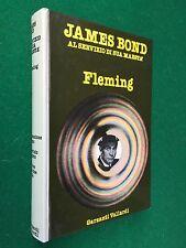 Ian FLEMING - JAMES BOND AL SERVIZIO MAESTA' 1° Ed Omnibus Garzanti (1978) Libro