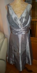 BNWT `JS Boutique` Size 14 Silver Grey Prom Style Dress. RRP £100. Bargain!