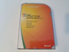 Microsoft Office 2007 Retail Home Student Complete with License Key English