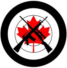 """Canadian Firearm Owners Decals 5"""""""