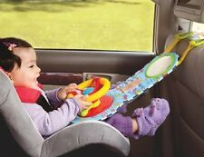 Baby Toddler Car Wheel Toy Musical In Car Activity Car Seat Toy with Mirror New