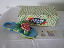 Enesco HAPPY TOES Rosie Tosies Tealight Holder CHY1023748  NEW IN BOX
