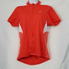 Pearl Izumi Women's Orange 2 Pocket Full Zipper Short Sleeve Jersey Size Large