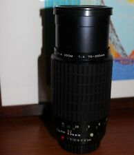PENTAX K mount Zoom Lens 70~200mm  1:4  by Takumar -  see pictures