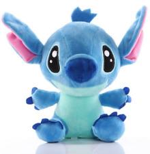 Cute Lilo And Stitch Stuffed Blue Stitch Cartoon Plush Doll Toy For Kids 20cm