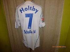 "FC Schalke 04 Adidas Auswärts Trikot 2009/10 ""GAZPROM"" + Nr.7 Holtby Gr.XL TOP"