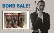 """James Bond 007 Premiere Limited Edition """"Tomorrow Never Dies"""" Set of 3"""