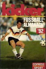 Estrattore scatto Almanacco 1992 - Il Anno di calcio im Libro tascabile