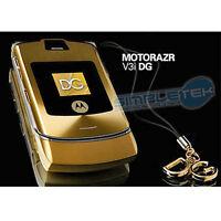 Motorola Razor V3i Dolce & Gabbana Unlocked Gold Cell Mobile Phone