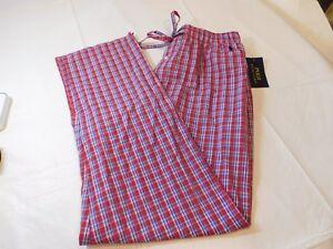 Polo Ralph Lauren underwear Mens Sleep Lounge Pants P501SR JI3 red plaid M md