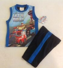 Boy's Nickelodeon Paw Patrol Outfit Sz 24 Months Shirt Shorts New 2 Piece Set