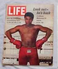 October 23 1970 LIFE Magazine MUHAMMAD ALI