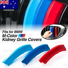 M-Performance Kidney Grille 3 Color Cover Insert Clips Trim for BMW *ALL MODELS*