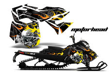 AMR Racing Sled Wrap Ski Doo Rev XM Snowmobile Graphics Kit 2013-2016 MOTORHEAD