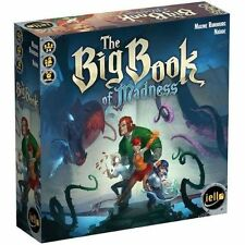 The Big Book of Madness Board Game Elemental College Library Monsters IELLO