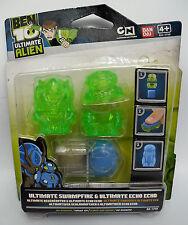 Ben 10 Ultimate Alien Swampfire Echo Water Hazard & Ultimate Humungousrur