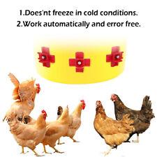 12x Poultry Waterer Automatic Chicken Nipples Drinker Waterer.water Dispenser