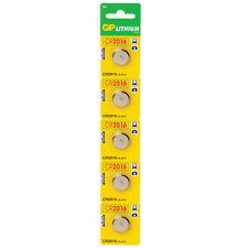 GP Batteries Cell Lithium CR2016 3V Pack of 5 CR2016-C5