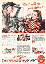 1947 MacMillian Motor Oil  - Original Advertisement Car Print Ad J522