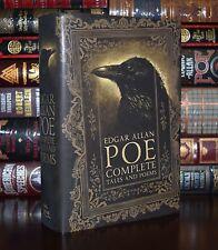 Edgar Allan Poe Complete Tales & Poems Raven Valdeman Usher New Hardcover Ed.