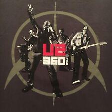 licensed U2 t-shirt-2010 360 degrees Tour-american apparel Usa made-New-(M)