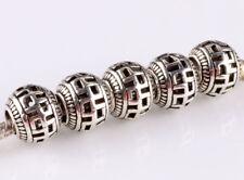 2 charms para pulsera europea plata tibetana G
