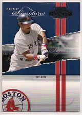 2004 Playoff Honors Prime Signatures JIM RICE /2500 Boston Red Sox #PS-26