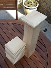 "10 fence post caps 5""x4""x1"" to suit 4""x3"" posts"