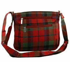 McNaughton Tartan Handbag 100% Wool 60% off RRP (Style 317)