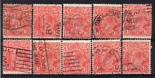 AUSTRALIA = GV 1-1/2d `Head`. 1926/30. Used. Unchecked for Shades, etc. (a)