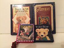 Teddy Bear Books-Quotations; A Celebration; Littlest Teddy Bear Book;Quotable Tb