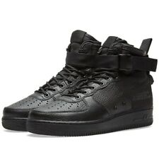 Nike SF Air Force 1 Mid Trainers Men's Uk Size 9.5 44.5 917753 005 Triple Black