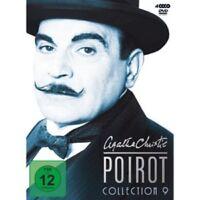DAVID SUCHET/ELIOTT GOULD/+ - AGATHA CHRISTIE-POIROT-COLLECTION 9; 4 DVD NEU