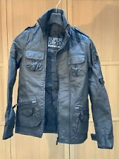 SUPERDRY - New Black Field Jacket - Mens Size Small (S)