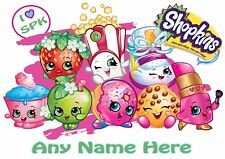 Personalised Kids Childrens A4 Placemat / Dinner Mat With Puzzles Shopkins (2)