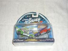 2002 Hasbro Disney Wild Racers Diecast Car 2-Pack Toy Story Warpster Aggressor