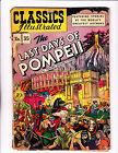 Classic Illustrated No.35 (HRN 35) :1947: : 1st Edition! : : Pompeii :