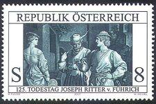 Austria 2001 von Fuehrich/Engraving/Art/Artists/Paintings/People 1v (n41226)