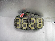 HOUSE NUMBER ROCK -NUMBERS GLOWS IN THE DARK