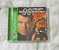 Tomorrow Never Dies Greatest Hits (Sony PlayStation 1, 1999) PS1 CIB & TESTED
