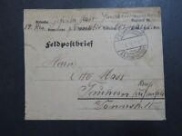 Germany 1915 Reserve Fieldpost Cover / Back Cacheted - Z9535