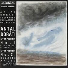Antal Dorati No. 1 No. 2 Stolkholm Orchestra BIS, New Music