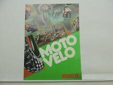 Vintage Moto Velo Pirelli Catalog Motorcycle Tire Motocross Trial L6642